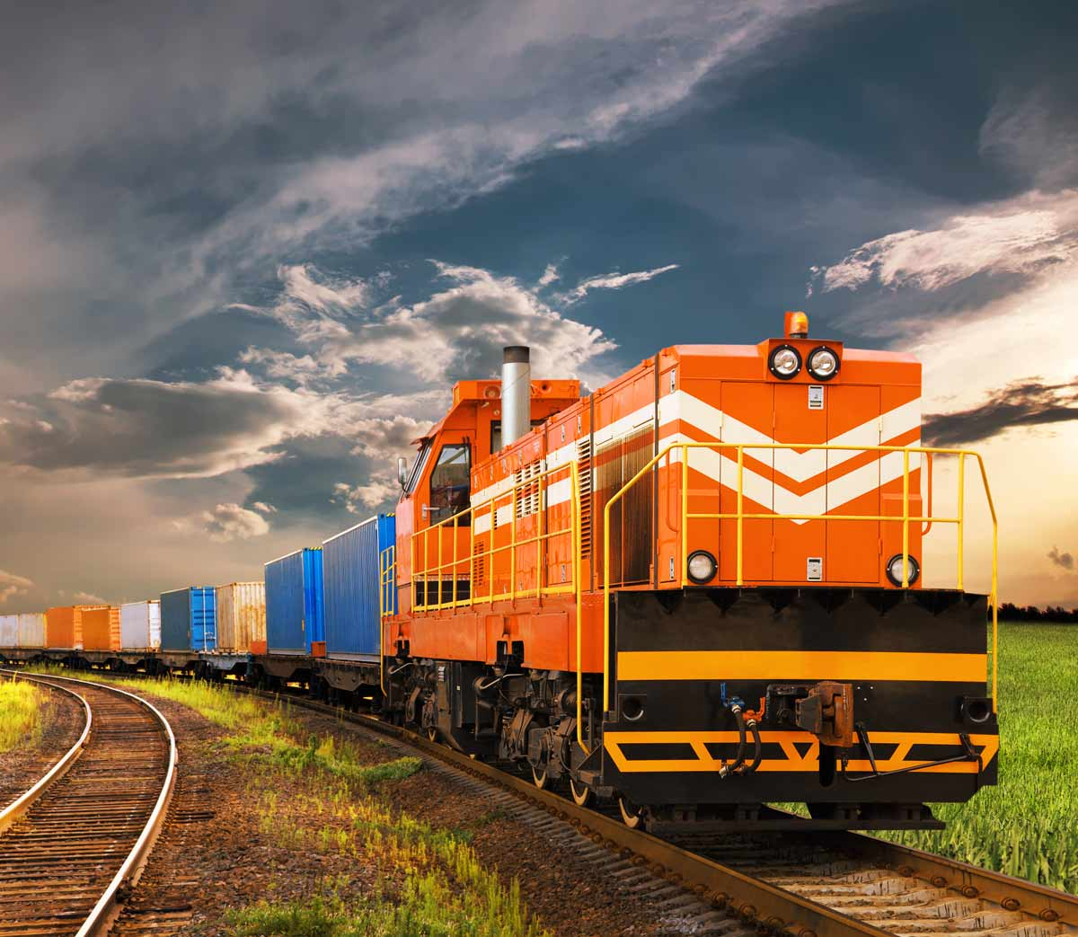 Train Freight Forwarding